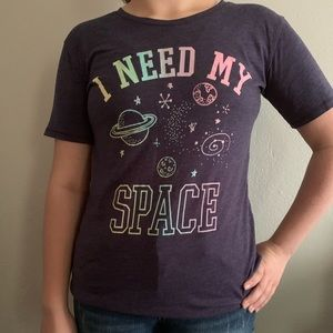 Colorful I need my space tee
